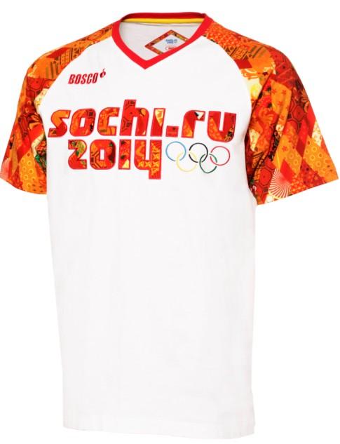Купить Футболку С Олимпийской Символикой