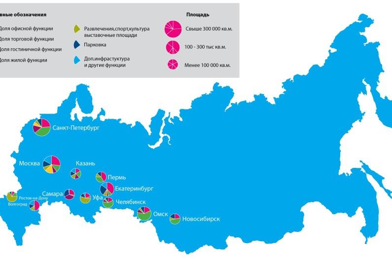 Сколько крупных городов в россии 2018