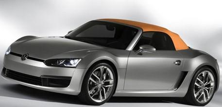 Детройт 2009: мировая премьера концепта Volkswagen BlueSport.